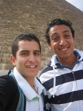 My tour guide around Giza and the Cairo museum during my last trip, who I fear has gotten little to no work over the past two years. The tourism industry has been one of the hardest hit by Egypt's political chaos.
