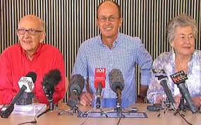 Sky News captures joy of Greste family after news of Peter Greste's release.
